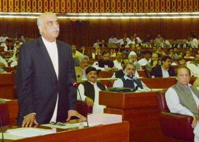 سید خورشید شاہ نے موجودہ سیاسی بحران کو حل کرنے کیلئے مڈٹرم انتخابات کی تجویز دے دی