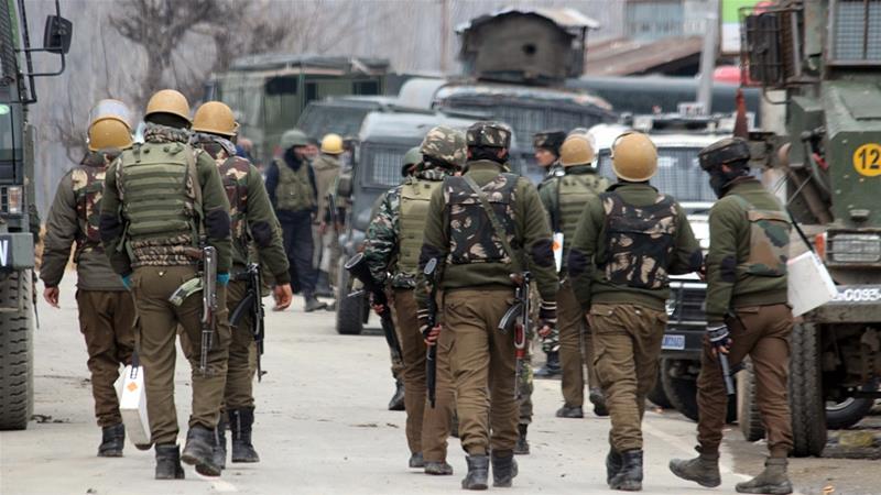 جنوبی اور شمالی کشمیر کے 6علاقوں میں بھارتی فوجی آپریشن
