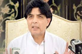 دھرنوں کے ذریعے حکومت تبدیل کرنا غلط روایت ڈالے گا۔ چودھری نثار علی خان