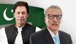 ڈاکٹر عارف علوی سے وزیراعظم عمران خان کی ملاقات