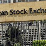 پاکستان اسٹاک مارکیٹ میں کاروباری ہفتے کے آخری روز مندی کا رجحان غالب