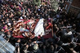 مقبوضہ کشمیر میں سیکیورٹی فورسز نے آپریشن میں 4نوجوانوں کو شہیدکردیا