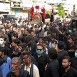حضرت علی کے یوم شہادت کے موقع پرکورونا وائرس کے باعث پابندیوں کے باوجود ملک بھر میں ماتمی جلوس نکالے گئے