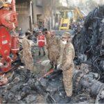 کراچی طیارہ حادثہ میں 2 مکان مکمل تباہ اور 17 جزوی طور پر متاثر ہوئے، حکومت سندھ