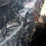 طیارہ ائر بس ائر پورٹ کے نزدیک حادثے کا شکار ہو کر تباہ ہو گیا۔ ترجمان پی آئی اے