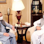 چیئرمین سینیٹ اور وزیراعلیٰ پنجاب کی وزیراعلیٰ بلوچستان سے ملاقات