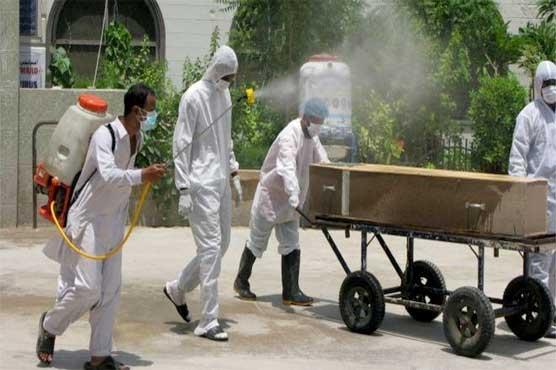 کورونا وائرس ، ملک بھر میں مزید 68افراد جاں بحق ، تعداد 4619ہو گئی