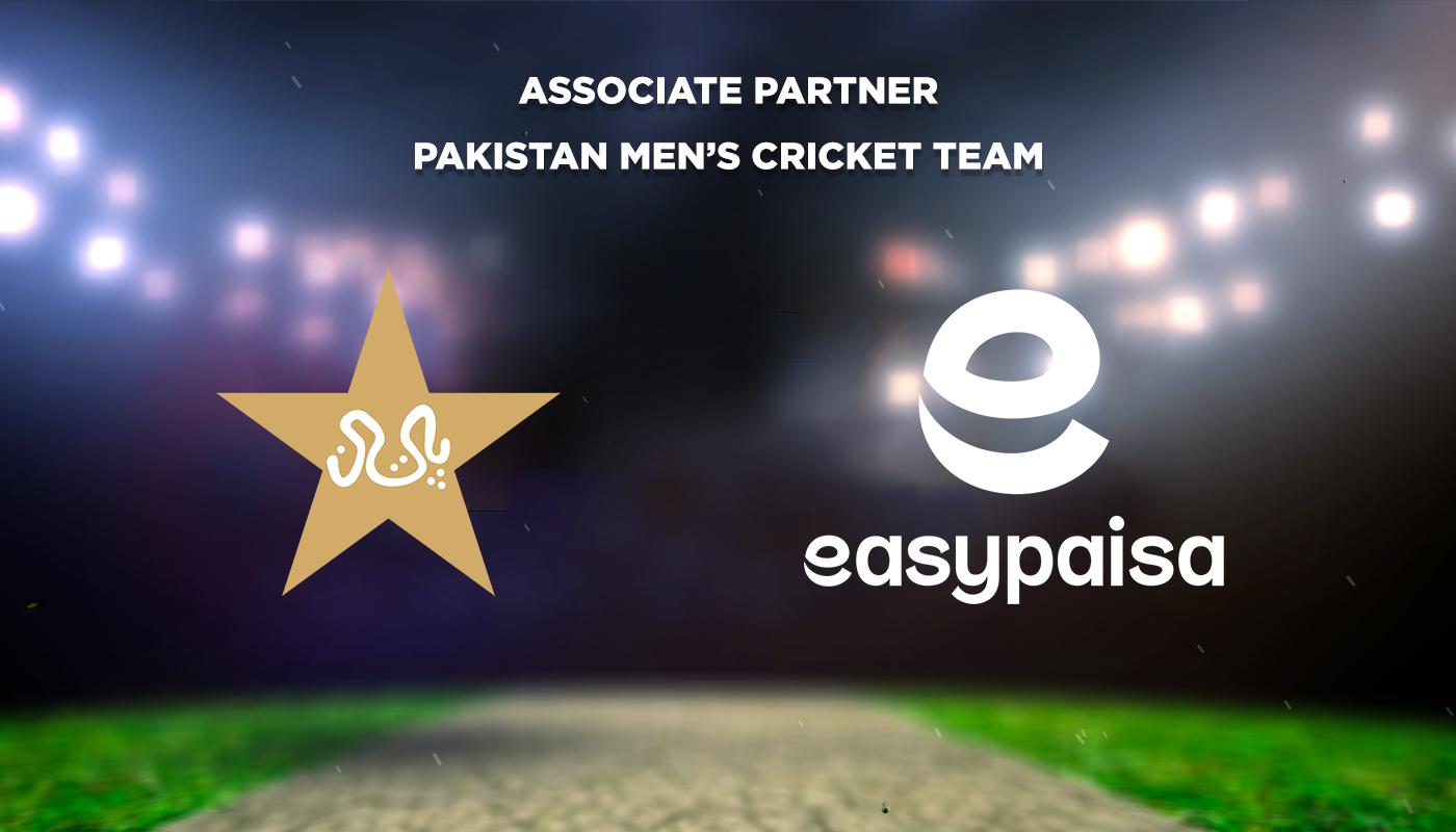 ایزی پیسہ پاکستان کرکٹ بورڈ کا قابل فخر شراکت دار