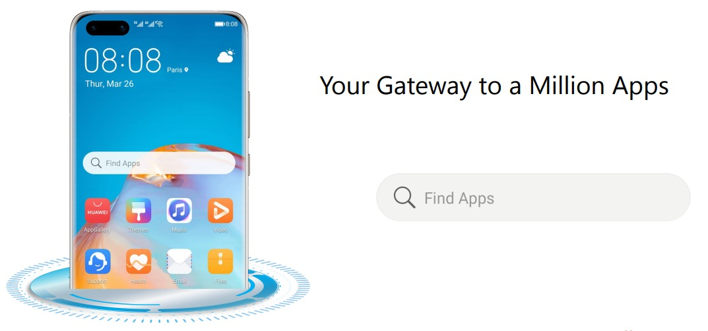 ,صارفین کو دس لاکھ سے زائد ایپس تک رسائی کے لئے ایک اوپن گیٹ وے  HUAWEI  Find Apps