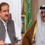 وزیر اعلی عثمان بزدارسے سعودی عرب کے سفیر نواف بن سعید احمد المالکی کی ملاقات