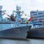 چین میں تیار کیے جا نیوالا جدید 054 فریگیٹ جہاز پاک بحریہ کے بیڑے میں شامل