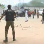 اپوزیشن جماعتوں کاقومی اسمبلی میں لاہور میں مریم نواز کی نیب میں پیشی کے موقع پر کارکنوں پر پولیس کے تشدد گرفتاریوں کے خلاف شدید احتجاج