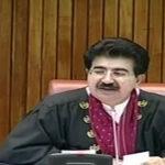 پاکستان اسرائیل کو کبھی تسلیم نہیں کر سکتا، صادق سنجرانی