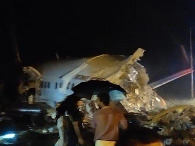 بھارت میں مسافر بردار طیارے کو خوفناک حادثہ، پائلٹ سمیت 22 افراد ہلاک