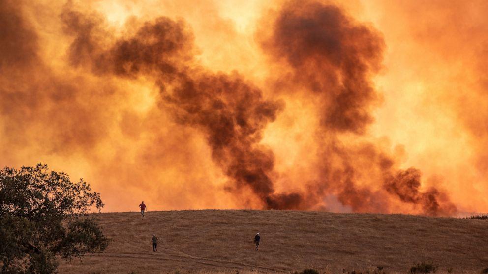 اسپین کے جنگلات میں آتشزدگی، ہزاروں افراد محفوظ مقامات پر منتقل