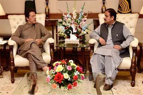 وزیراعظم عمران خان سے وزیراعلیٰ پنجاب کی ملاقات، 2 سالہ کارکردگی رپورٹ پیش کی