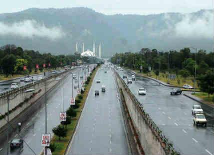 اسلام آباد میں رواں ہفتے شدید بارشوں کی پیشگوئی، سیلاب کا خدشہ