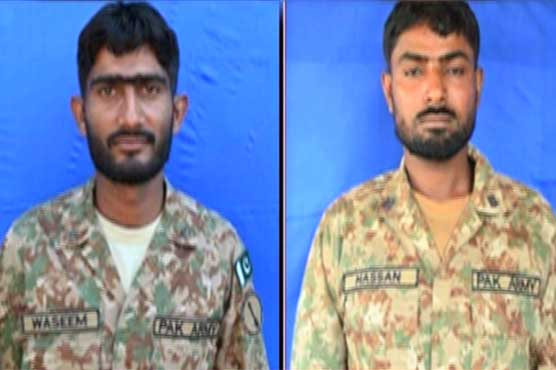 بھارتی فوج کی کنٹرول لائن پر بلا اشتعال فائرنگ، سپاہی نور اللہ اور وسیم علی شہید