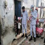 پاک بحریہ کا سندھ میں بارش سے متاثرہ علاقوں میں امدادی آپریشن جاری