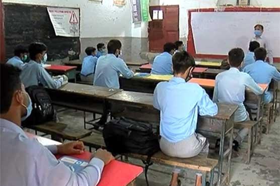 سندھ کے تعلیمی اداروں میں سیکنڈری کلاسز28 ستمبرسے شروع کرنے کا فیصلہ