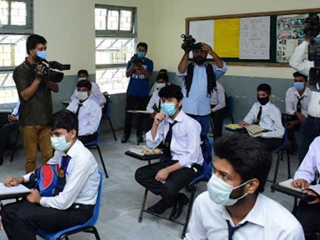 کراچی سمیت سندھ بھرمیں 7 ماہ کی بندش کے بعد تعلیمی سرگرمیاں مکمل بحال