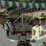 ایڈمرل امجد خان نیازی نے پاک بحریہ کے نئے سربراہ کا عہدہ سنبھال لیا