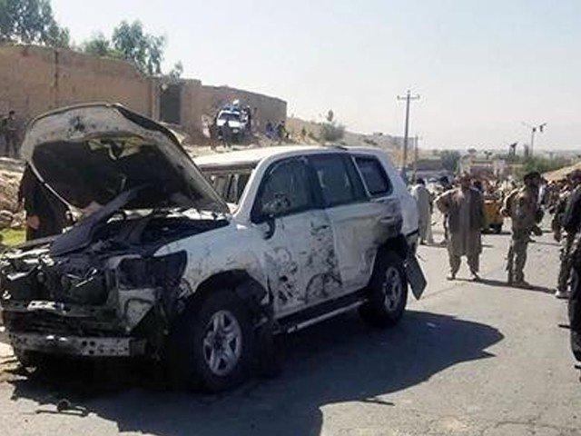 افغان صوبے لغمان میں گورنر کے قافلے پر حملہ، 4 افراد ہلاک