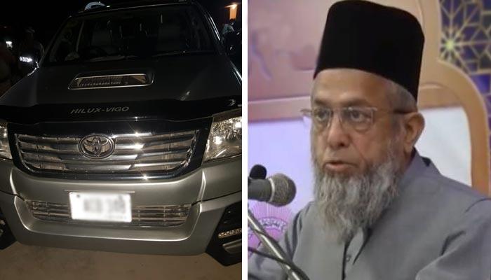 شاہ فیصل کالونی میں فائرنگ، معروف عالم دین مولانا عادل ساتھی سمیت شہید
