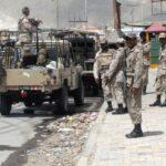 تربت میں سیکیورٹی فورسز پر دہشت گردوں کا حملہ،ایک اہلکار شہید 3 زخمی