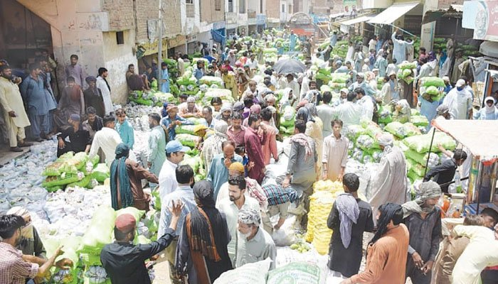 سندھ، تمام سبزی منڈیوں میں ماسک لازمی قرار