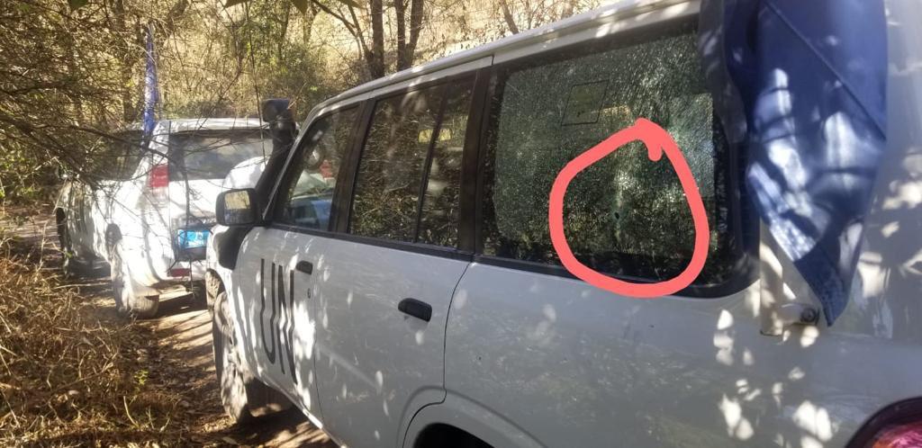 ایل او سی: بھارتی فوج کی اقوام متحدہ کی گاڑی پر فائرنگ، یو این مبصرین بال بال بچ گئے