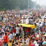 بھارتی سرکار کی کسان دشمن پالیسیوں کے خلاف نئی دہلی میں احتجاج جاری