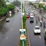لاہور کے مختلف علاقوں میں وقفے وقفے سے بارش، خنکی بڑھ گئی
