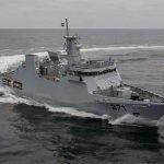 پاکستان نیوی کے نئے جہاز پی این ایس تبوک کی بحری بیڑے میں باقاعدہ شمولیت