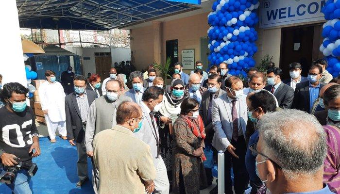 WHO کا سندھ کو 22 کروڑ مالیت کے طبی سامان اور گاڑیوں کا عطیہ