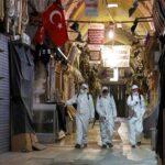 ترکی میں کورونا سے بچاؤ کیلئے جمعہ کی رات سے پیر کی صبح تک کرفیو کا اعلان