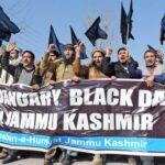 بھارتی یوم جمہوریہ کو کشمیری عوام نے یوم سیاہ کے طور پر منایا