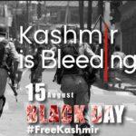 کشمیری آج بھارتی یوم جمہوریہ کویوم سیاہ کے طورپرمنا ئیں گے ...احتجاجی مظاہرے اور ریلیاں