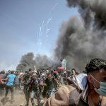 اسرائیلی فوج کا فلسطینی مظاہرین کے خلاف طاقت کا وحشیانہ استعمال،متعدد زخمی