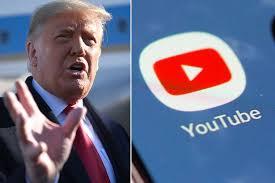 یوٹیوب نے بھی ڈونلڈ ٹرمپ کا چینل معطل کردیا