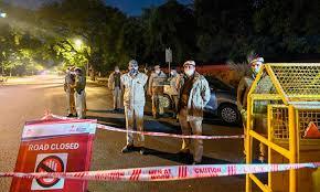 نئی دہلی میں اسرائیل سفارتخانے کے قریب دھماکا