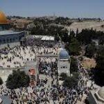 مقبوضہ بیت المقدس ،یہودی آباکاروں کی جانب سے قبلہ اول پر دھاوا