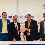 کسانوں کی ترقی کے ڈیری فنانسنگ پراجیکٹ کے لئے دی بینک آف پنجاب اور حلیب فوڈز ایک ساتھ