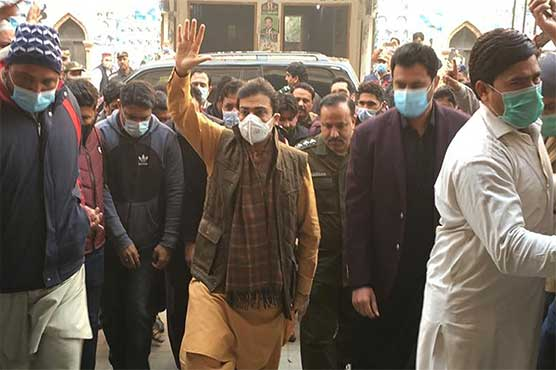 اپوزیشن لیڈر پنجاب اسمبلی حمزہ شہباز کوٹ لکھپت جیل سے رہا
