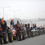 بھارتی کسانوں کا 40 لاکھ ٹریکٹرز سے پارلیمنٹ کے گھیرا وکا اعلان