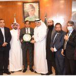 کراچی:سعود ی عرب کے سفیر نواف سعید المالکی کا دورہ ایف پی سی سی آئی