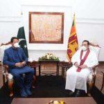 پاکستانی اور سری لنکن وزرائے اعظم کی ملاقات، دوطرفہ تعاون بڑھانے پر اتفاق
