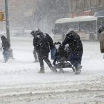 امریکا میں برفانی طوفان اور کڑاکے دار سردی میں 20 افراد ہلاک
