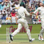 راولپنڈی ٹیسٹ: جنوبی افریقہ 201 رنز بنا کر آؤٹ، پاکستان کی بیٹنگ جاری