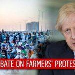 بھارتی کسانوں کا احتجاج، برطانیہ کا معاملہ وزرائے اعظم کی ملاقات اٹھانے کا اعلان